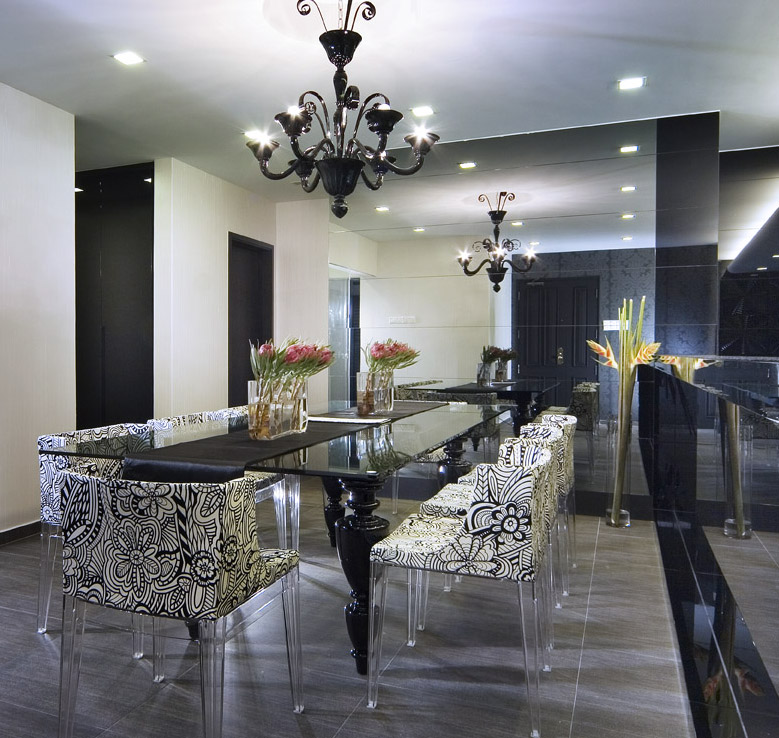 Some of my favourite designs in mixing modern for Contemporary dining room pictures